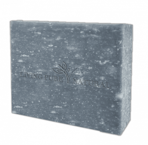 Living Pure Natural Charcoal Olive Oil Soap