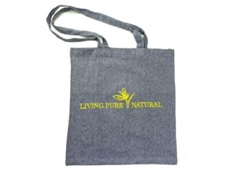 Living Pure Natural Cotton Luxury Bag for life