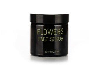 Living Pure Natural Flowers Face Scrub with lavender and olive oil